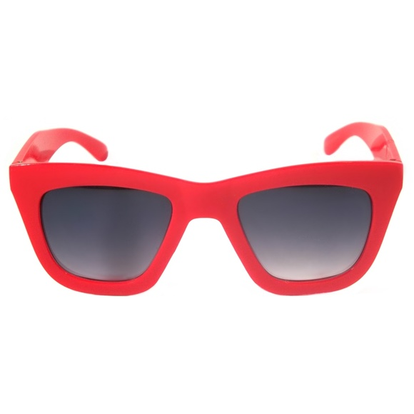 6651c4be6d914 Cat Eye Sunglasses Dena Vintage Thick Square Frame